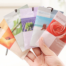 2015 New Bedroom Drawers Portable Car Romantic Fresh Air Scented Aromatherapy Sachet Bag Many Different Flavor Fragrances indian(China (Mainland))