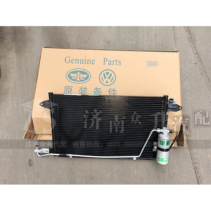 Jetta / Jetta condenser / air conditioning radiator / with dry bottles / with tank / air conditioning cooling network(China (Mainland))