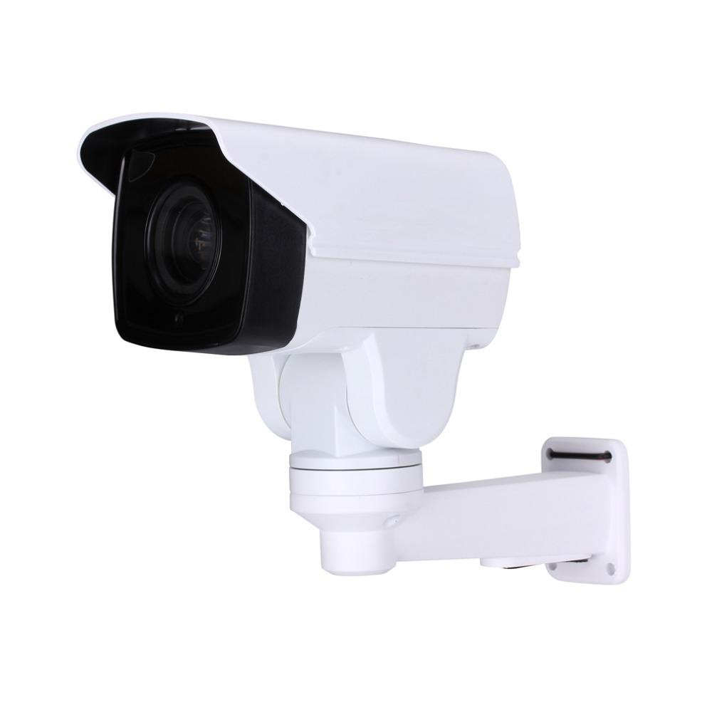 2016 New 1080p IP Mini Bullet Pan Tilt Camera 10x Zoom Wall Bracket onvif p2p 4pcs Infrared Led IR 50M Waterproof CCTV IP Camera(China (Mainland))