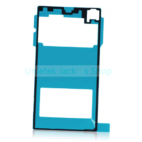for Sony Xperia Z1 L39h original rear back glass Adhesive Sticker replacement parts free shipping