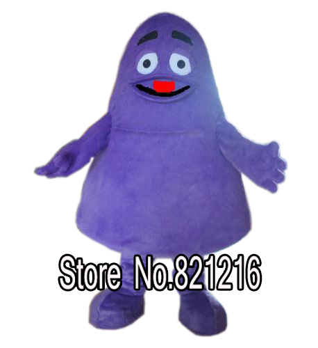 Purple Monster Adult Grimace Mascot Costume Halloween costume carnival costumes Одежда и ак�е��уары<br><br><br>Aliexpress