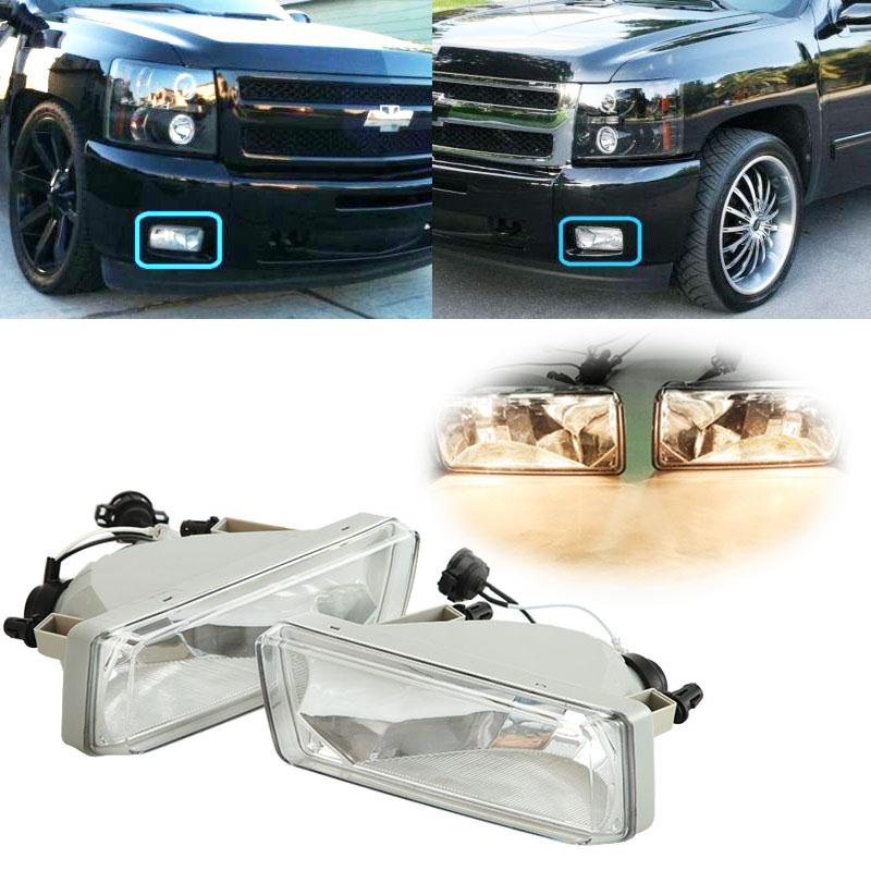 A Pair H16 Fog Lights 5202 Halogen Bulb 12V 13.5W For Chevy Suburban/Avalanche/Tahoe/Silverado Silverado 2500HD/3500HD(China (Mainland))
