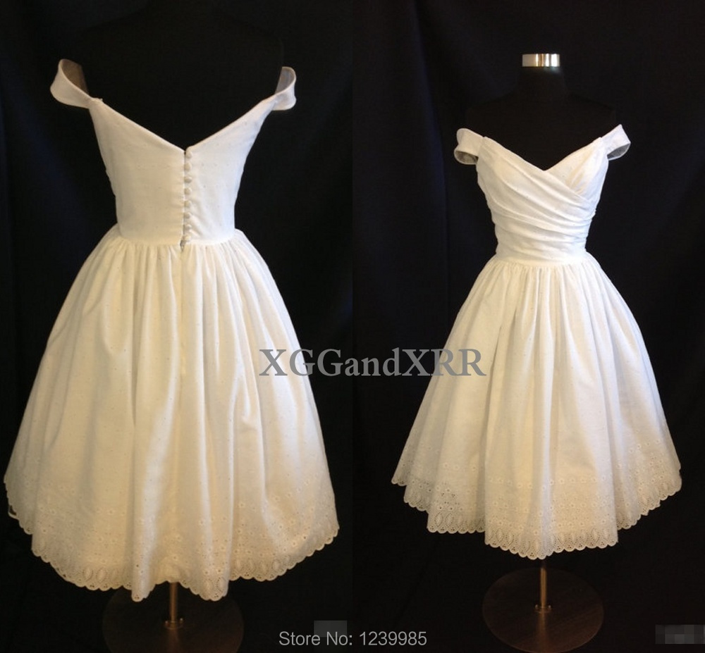 2016 Real Picture Wedding Dress Short Wedding Party gown New Sexy Design V Neck Mini Bride Dress Free Shipping Custom Made Gowns(China (Mainland))