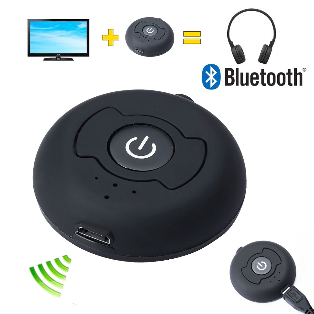 3.5mm Bluetooth Transmitter Blutooth V4.0 Multi-point Wireless Blutooth Audio A2DP Stereo Dongle Adapter for TV PC Tablet MP3(China (Mainland))