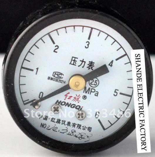 Dial diameter: 40mm 0-6Mpa general pressure gauge(China (Mainland))
