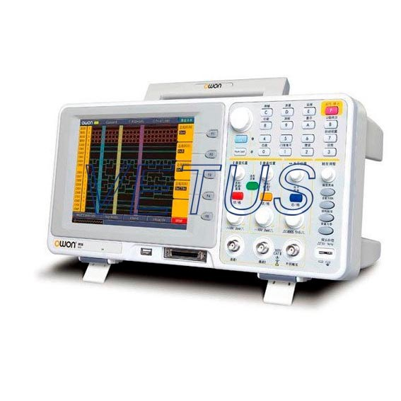New Owon MSO7102T Digital Storage Oscilloscope 100MHz Bandwidth and 1GS/s, Dual channels + external trigger, 8.0 color LCD<br><br>Aliexpress