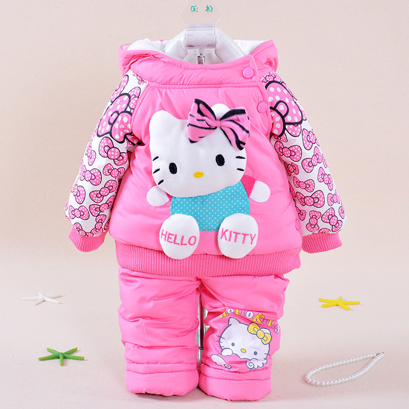 baby clothing set hello kitty girl clothes roupa infantil ...