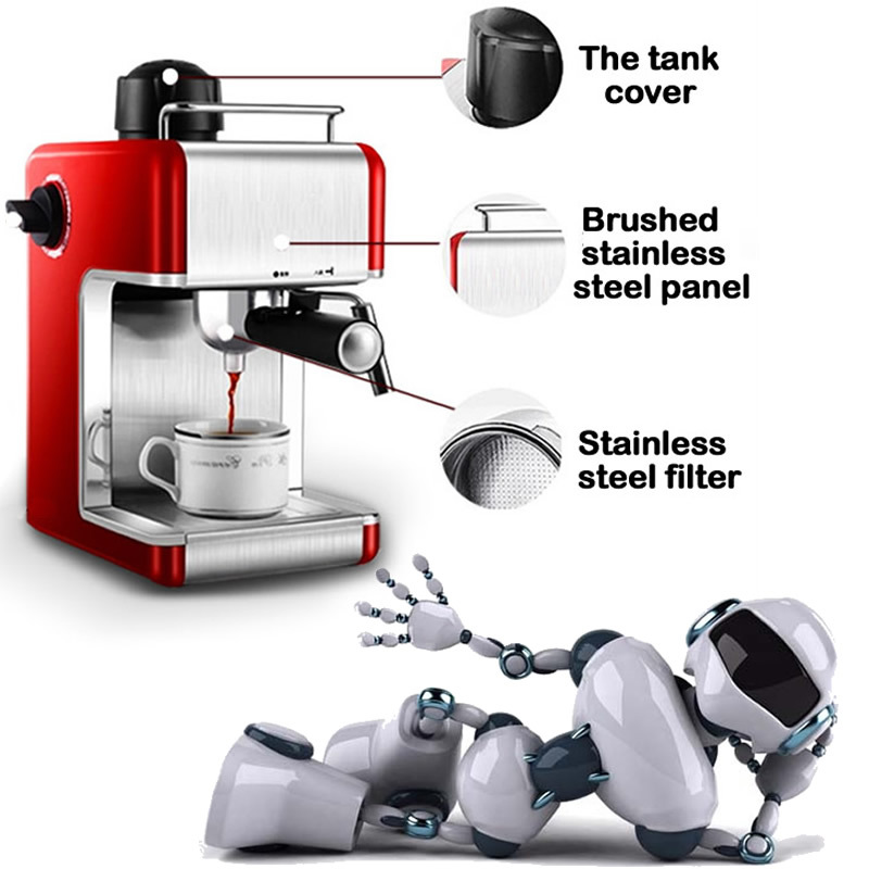 Automatic Coffee Maker Made In Italy : Aliexpress.com : Buy Free shipping Italy espresso coffee machine automatic maker , Cup warming ...