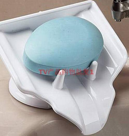 Мода сильного всасывания ванной душ аксессуар Обладатель Кубка лоток мыло заставка держатель мыльница блюдо - водопад