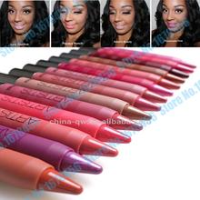 18pcs/lot Brand batom Menow makeup rotating lipgloss Waterproof Matte Lipstick Pencil for beauty woman batons lip gloss(China (Mainland))