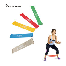 new 5psc/lot 5 levels available pull up assist bands crossfit exercise body ankle fitness resistance loop band for freeshipping