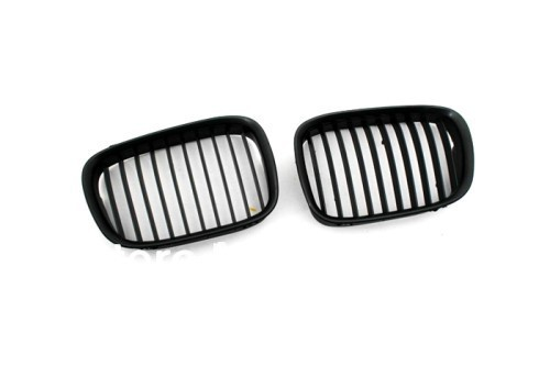 Euro Style Matte Black Front Grille For BMW E39 Pre-facelift 5 Series<br><br>Aliexpress