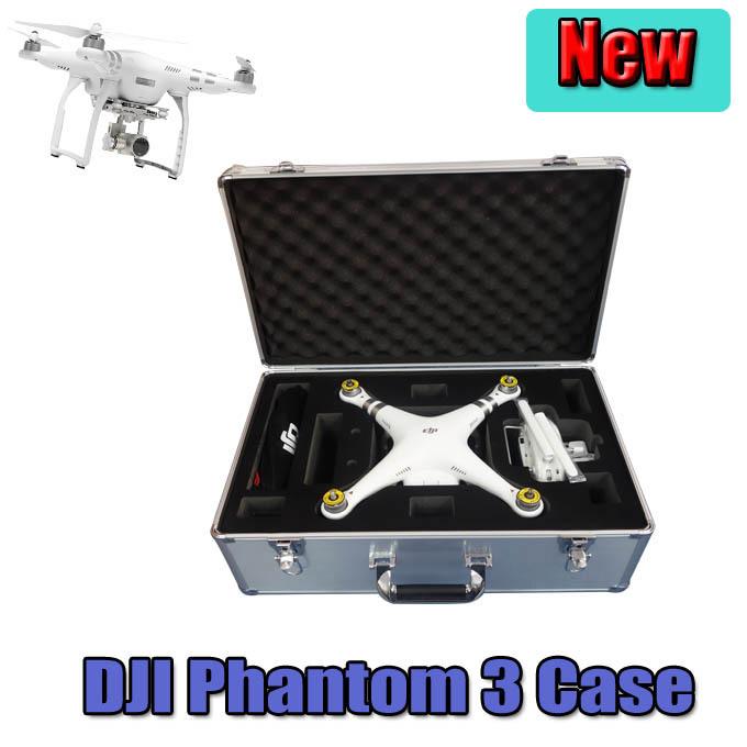 2015 DJI Phantom 3 Professional Aluminum EVA Hard Case Box with Key Lock EVA AR RC Drone Quadcopter FPV parts Free Shipping toys(China (Mainland))