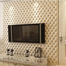 Great Wall 3D Imitation Leather vein 10 m roll wallpaper for walls,living room of 3d wall paper,papel de parede roll 3d room(China (Mainland))