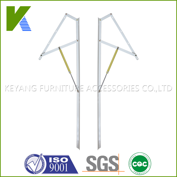 Adjustable Furniture Hardware Lift Gas Spring Mechanism For Bed Or Sofa Storage KYB006(China (Mainland))