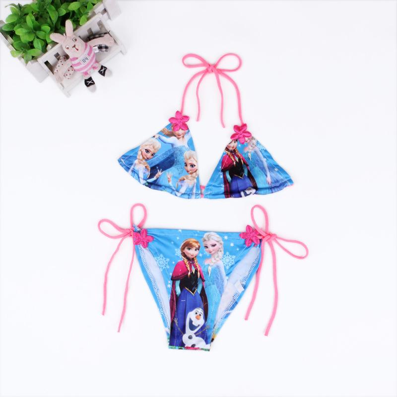 2015 Lovely printing Child Bikini swimsuit swimwear bathing suit girls kids bikini children - baby-kids store