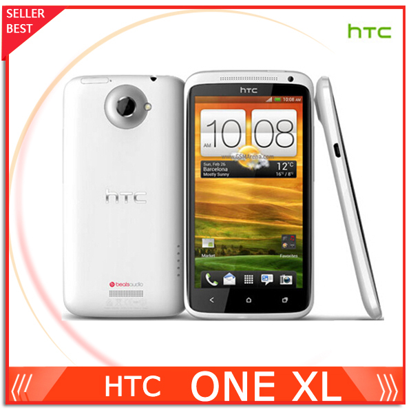 "HTC ONE XL Original Unlocked Mobile phone 4.7"" 3G 1GB RAM 16GB Storage Wifi NFC GPS 8MP Camera Free Shipping(China (Mainland))"