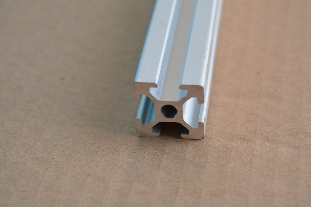 2020 aluminum extrusion profile european standard white length 428mm industrial aluminum profile workbench # OB2020-428 1pcs(China (Mainland))
