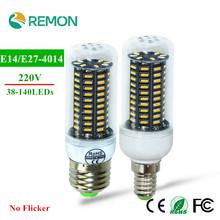 E27 E14 LED Bulb Real Flicker/Strobe Smart Power IC Design Corn Bulbs High Lumen 4014 SMD 220V long Life Spot light - Asign Regan Cross-border Trade Store store