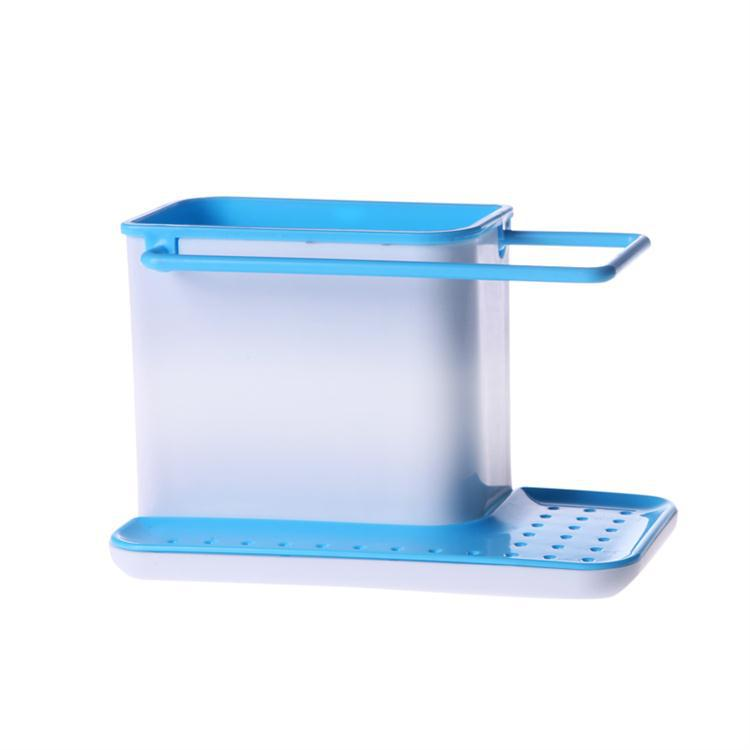 Multifunctional combination of kitchen bathroom and the storage rack - Blue(China (Mainland))