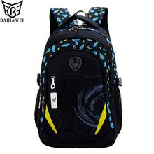 2016 New Children School Bag Alleviate Burdens Unisex Kids Backpack Casual Bags Backpacks For Teenage School bag