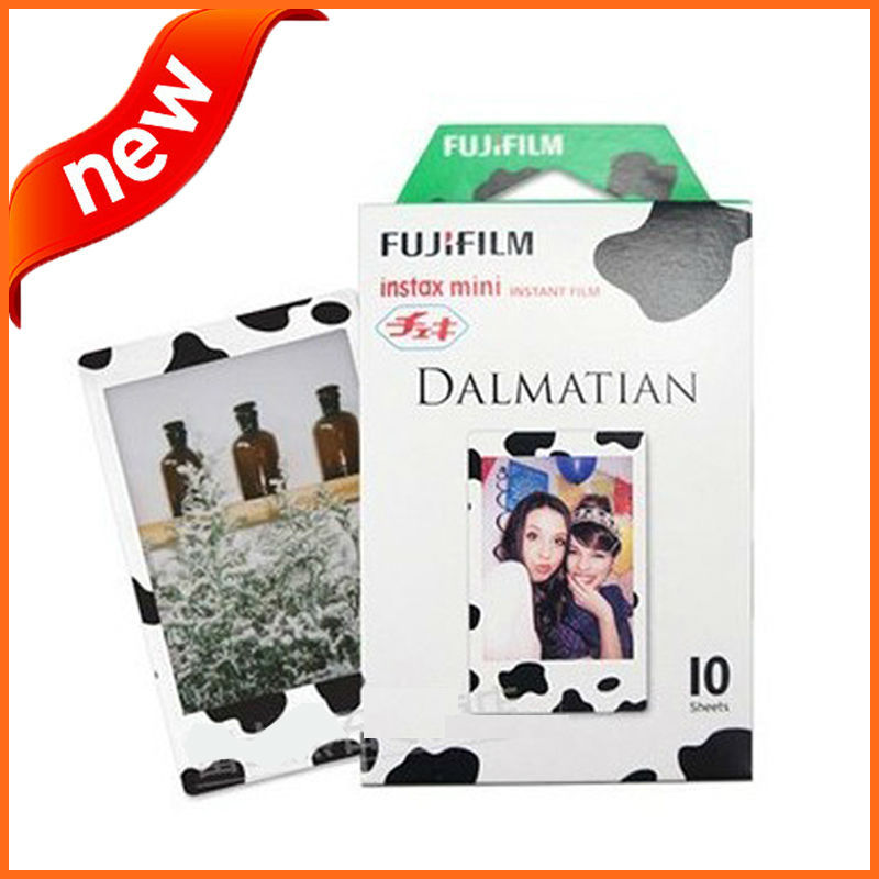 Diary Cow Cartoon Design Fuji Instax Film 50pcs for Camera Mini 7s 8 25 50s 90 Fujifilm Instax Mini Instant Film(China (Mainland))