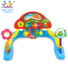 Multifunctional Exercise Piano with Music Intelligence Game Mats Baby Activity Play Mat Baby Gym Educational Fitness Frame Toys(China (Mainland))