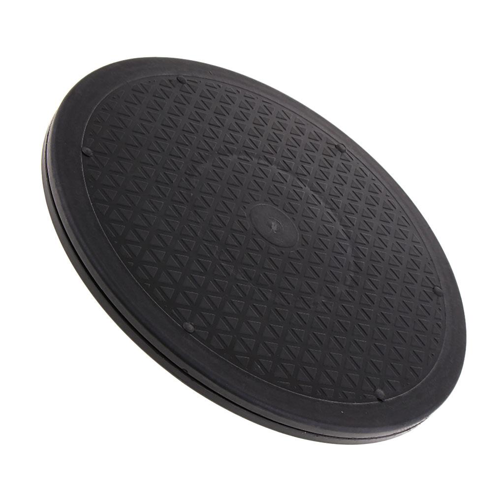 12 дюймов с поворотом платформа поворотного стола ленивый Сюзан нескользящей паз 12inch Rotating Swivel Turntable Platform, Lazy Susan, with Non-slip Groove - 55 Lbs, Capacity