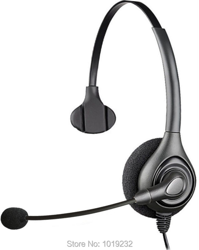 Additional 1 pcs EAR PAD +RJ9 plug headset Call center office headset ONLY for CISCO Telephone 7940 7960 7960 8941 8945 etc(China (Mainland))