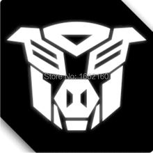 3M Reflective Funny Pig Autobot Car Sticker Decal 01400-S 12x10cm(China (Mainland))
