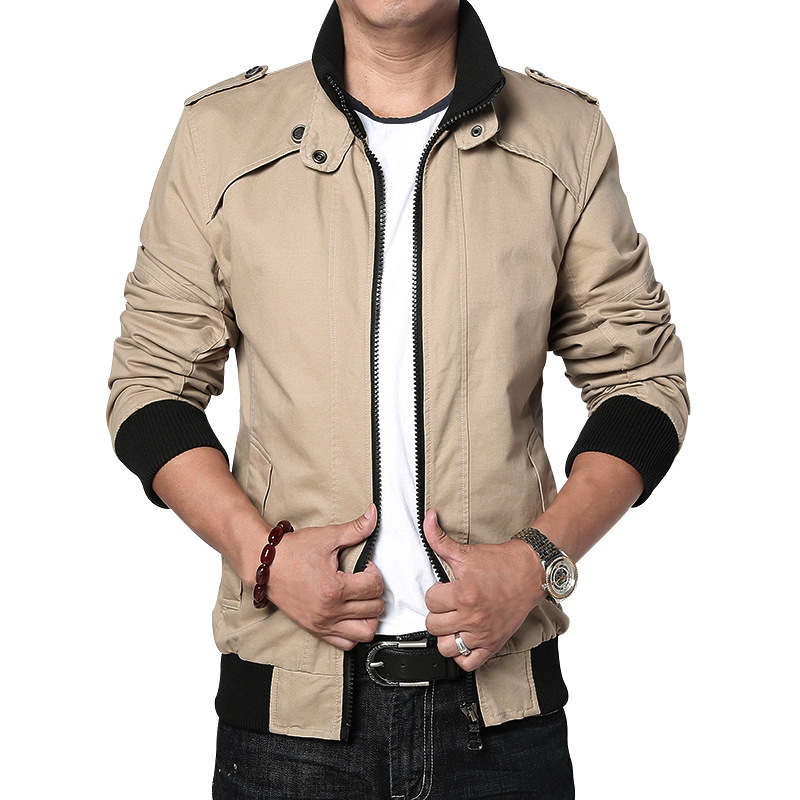 2015 Autumn Man Jacket Winter Warm Casual Turn down Collar ...