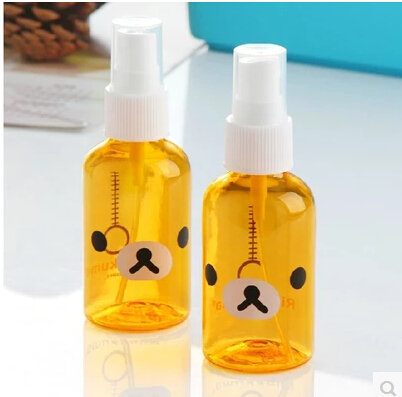 Ultra-fine mist spray perfume bottle lotion small spray bottle spray bottle watering can easily bear a small face care bottle(China (Mainland))