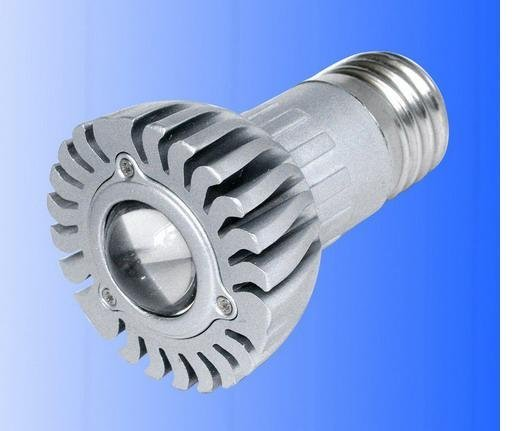 E27 1*1W led spot light;60-80lm;with 85 to 265V AC Input; large stock; please advise which color you need