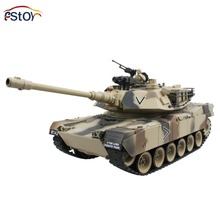 RC Tank 15 Channel 1/16 USA M1A2 Main Battle Tank Model With Shoot Bullet