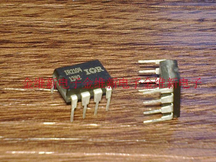 Free Shipping 5pcs/lot IR2104 IR2104PBF DIP8 MOSFET half-bridge FET driver new original(China (Mainland))