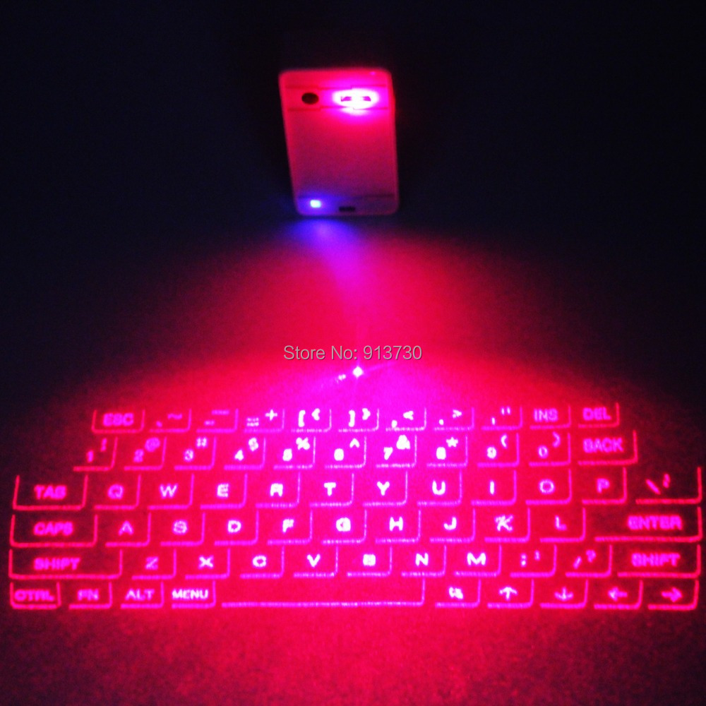 Portable Virtual Laser keyboard and mouse for Ipad Iphone Tablet PC, Bluetooth Projection Projected Keyboard Wireless Speaker(China (Mainland))