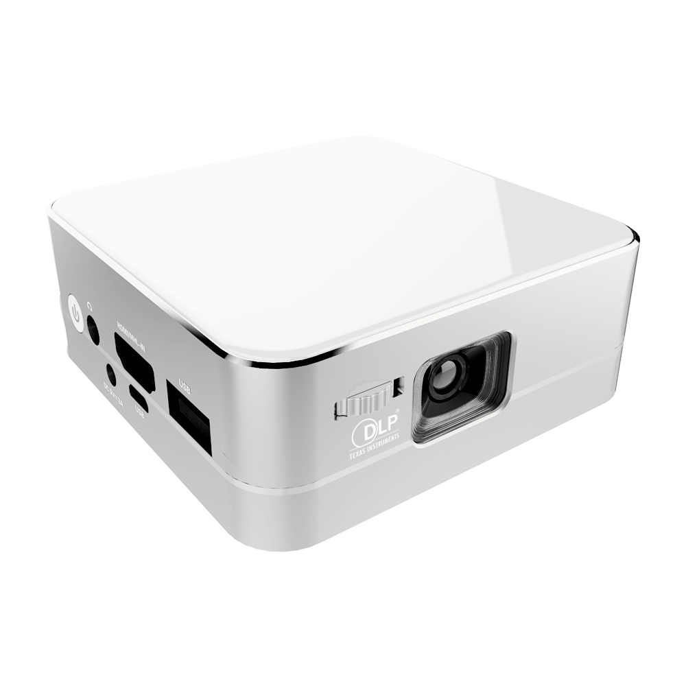 Portable mini led projector dlp 854x480 bluetooth hdmi for Bluetooth projector for iphone 6