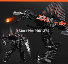 Hot Sale Scorn Action Figure Autobots Transformation Movie 4 Dinosaur And Character Scale Modelling Toy 25cm Free Shipping(China (Mainland))