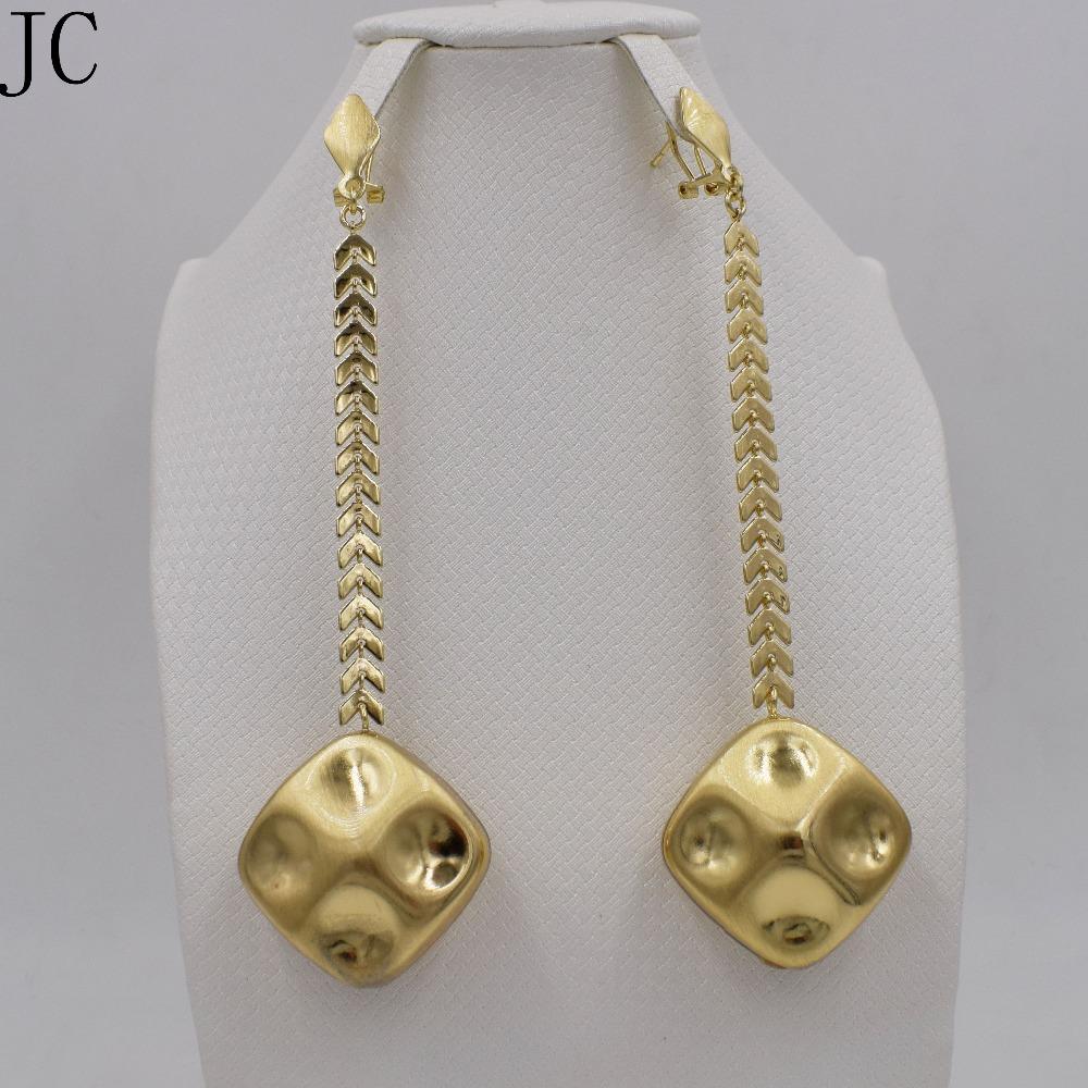 Elegant Crystal Long Earrings Women Jewellery | Indian Designer Earrings