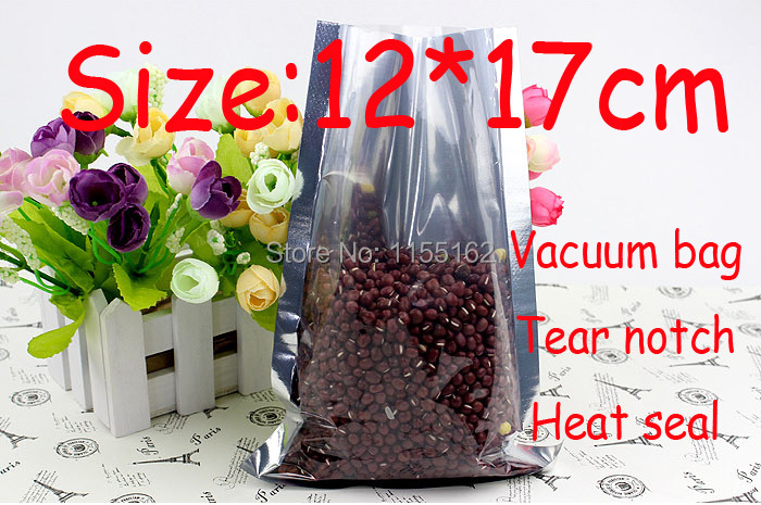 Eco-friendly Size:Width12cm*Length17cm vacuum storage packaging bag food/tea/coffee/candy package ISO/FDA/CE certificate(China (Mainland))
