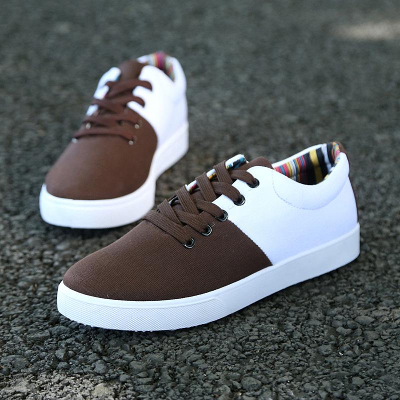 Men's canvas shoes casual shoes men color shoes(China (Mainland))