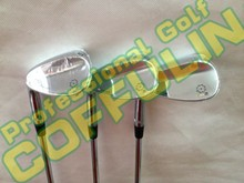 New Silver SM5 Golf Wedges With Ture Temper Steel Shafts Golf Clubs 52/56/60degree 3PCS(China (Mainland))