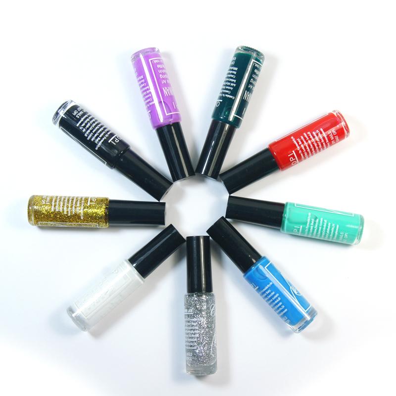 Stamp polish 1 Bottle/LOT Nail Polish & stamp polish nail art pen 11 colors Optional 10ml More engaging 4 Seasons(China (Mainland))