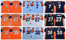 Denver Bronco,Dennis Smith,John Elway,Terrell Davis Gary Zimmerman Dennis Smith Shannon Sharpe Karl Mecklenburg Throwback(China (Mainland))