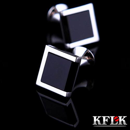 acheter kflk luxe chaude chemise boutons de manchette pour hommes de marque. Black Bedroom Furniture Sets. Home Design Ideas