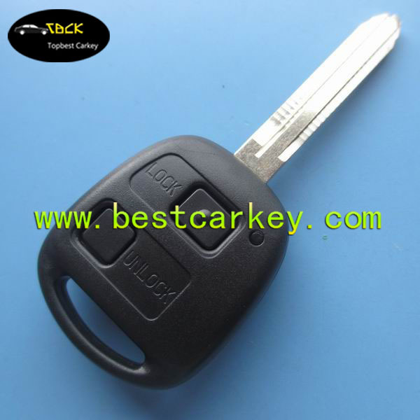 Good price 2 button remote key for toyota smart key toyota car remote key (TOY43-50171)(China (Mainland))