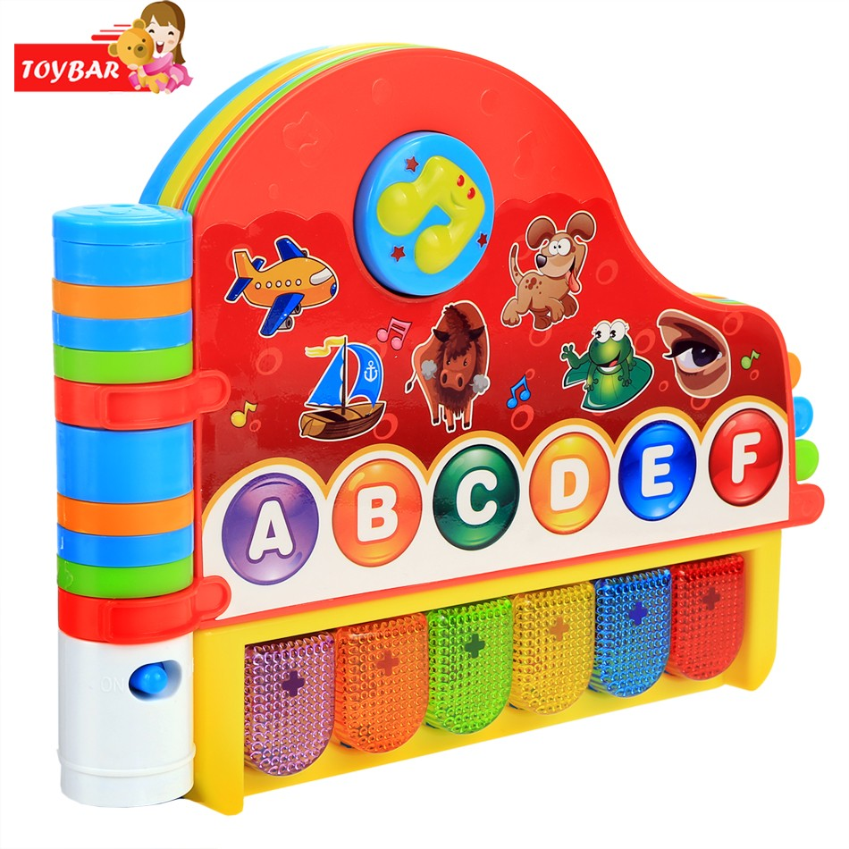 Kids Learning Machine Children Kids Learning Electronic Toy Musical Rhymes Book With Light Early Educational Toys(China (Mainland))