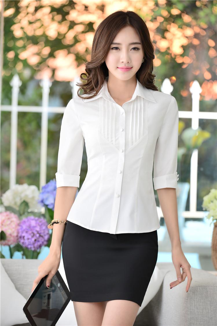 Novelty White 2015 Spring Summer Slim Fashion Uniform