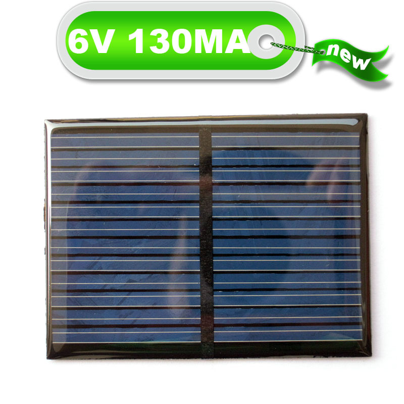 Federal scientific invention 6V130MA small production of solar panels Solar Power System Epoxy board(China (Mainland))