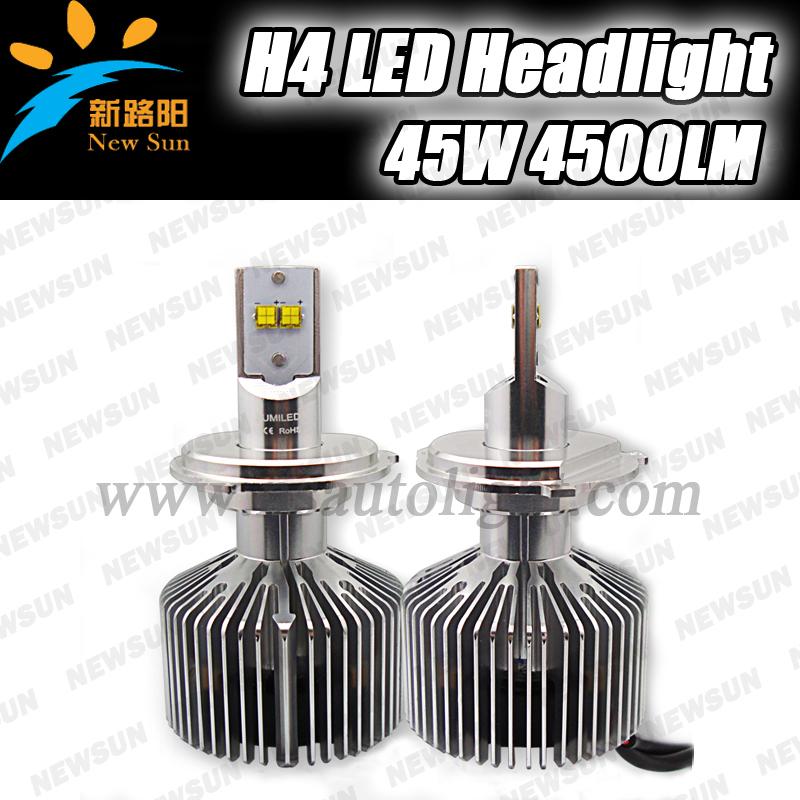 2015 New Auto Accessories Led Car Headlight 4500LM 2 pcs 9000lm Super Bright 5 GE H4 Led Headlights Car Headlamp Manufacturer<br><br>Aliexpress